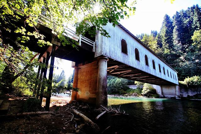 The Goodpasture Bridge, OR